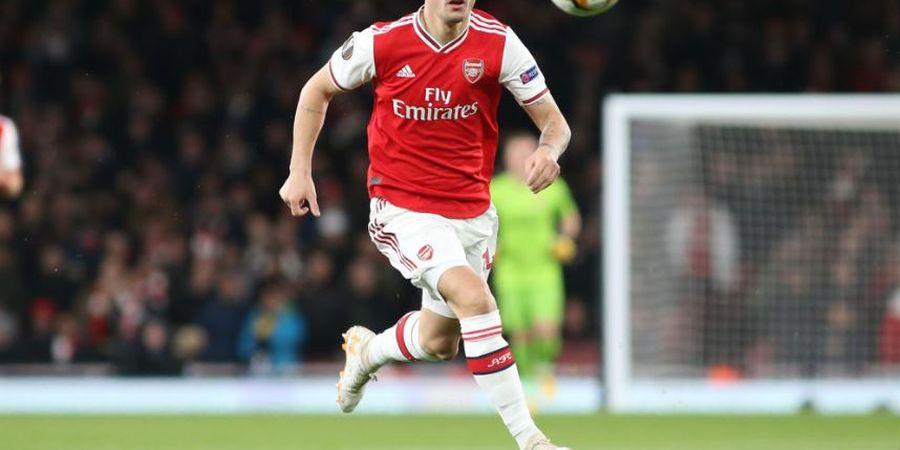 Cetak Gol Kontra Chelsea, Granit Xhaka Samai Pencapaian Legenda Arsenal yang Tak Sudi Menontonnya