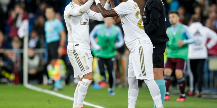 Hazard dan Vinicius Bersaing, Zidane Yakin Keduanya Bisa Main Bareng