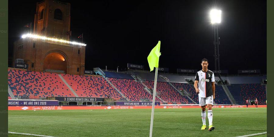 Statistik Ronaldo Era New Normal: 18 Tembakan, 2 Tendangan Penalti, 1 Gol