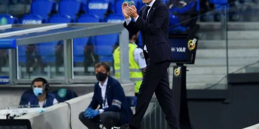 Kalah dari Tim Promosi, Zinedine Zidane Keluhkan Sikap Pemain Real Madrid
