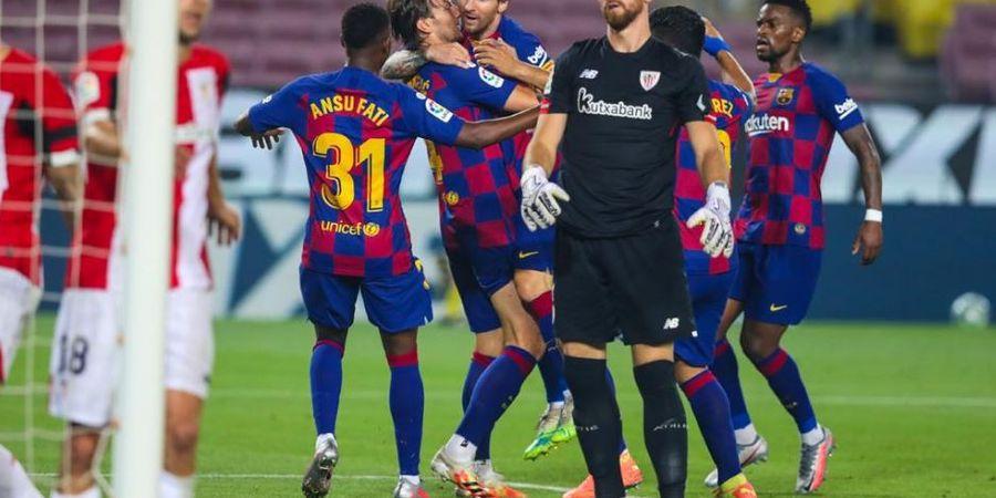 Hasil Pekan 31 Liga Spanyol, Barcelona Tebus Kesalahan di Pekan Sebelumnya