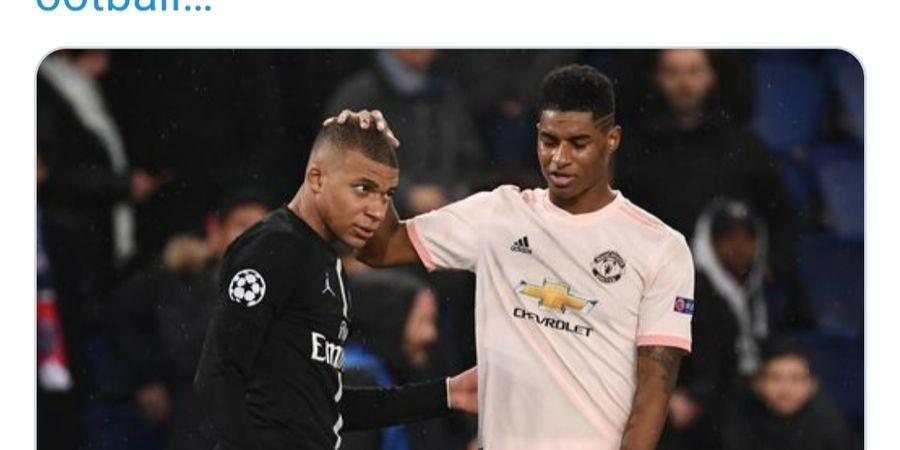 Kalah Secara Prestasi, Eks Man United Bersikeras Anggap Rashford Selevel dengan Mbappe