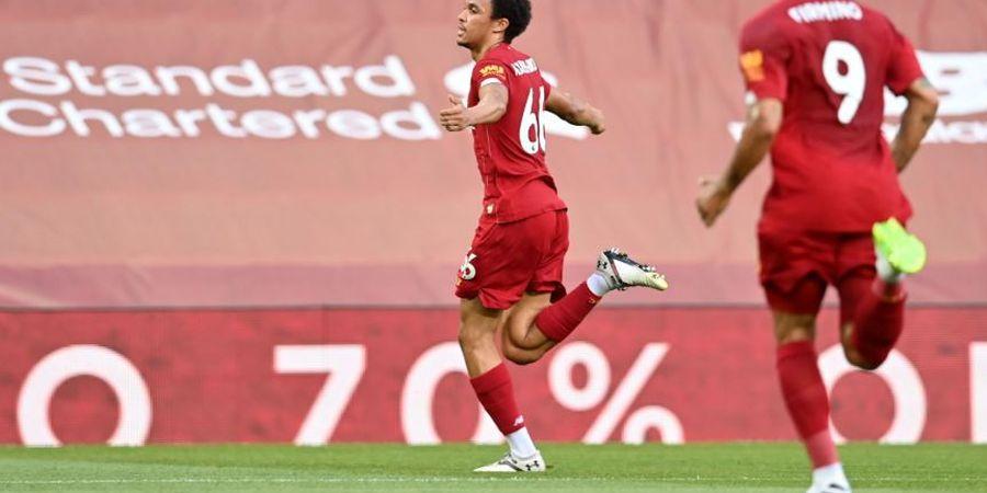 Sumbang Satu Gol Cantik, Bek Liverpool Bungkam Kritik dengan Freekick