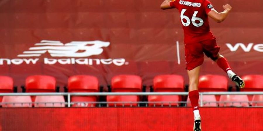 Selain Juarai Liga Inggris, Ini Capaian Trent Alexander-Arnold Bareng Liverpool