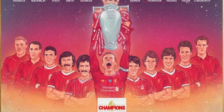 Setelah 3 Dekade, Liverpool Akhirnya Jadi Jawara Liga Inggris
