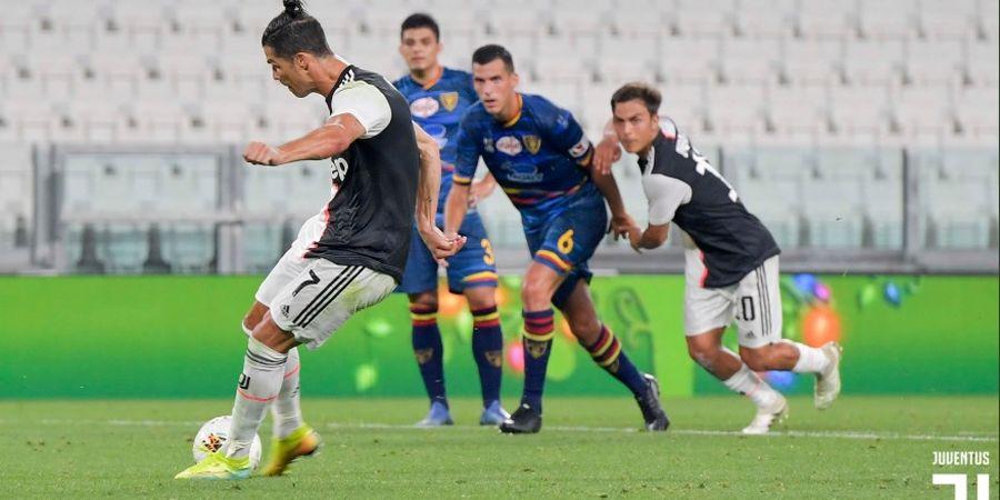 Hasil Liga Italia - Cristiano Ronaldo Gemilang, Juventus Unggul 7 Poin
