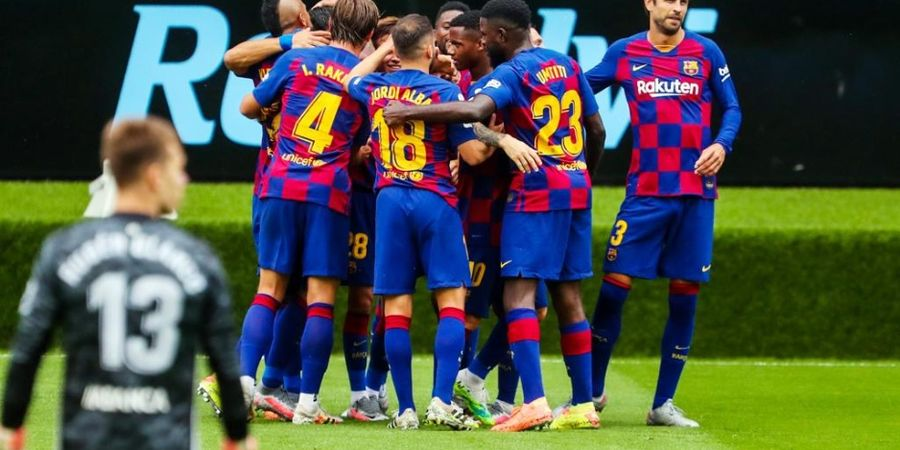 Link Live Streaming Villarreal Vs Barcelona - Misi Mengejar Real Madrid demi Trofi Liga Spanyol