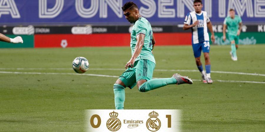 Hasil dan Klasemen Liga Spanyol - Real Madrid Menang, Barcelona Waspada