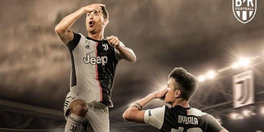 Hasil dan Klasemen Liga Italia - Cristiano Ronaldo Butuh 7 Tahun Lagi untuk Setara Immobile