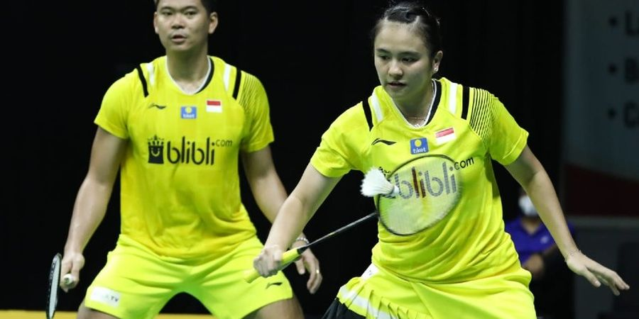 Link Live Streaming PBSI Home Tournament - Perjuangan Praveen/Melati Rebut Tiket Final