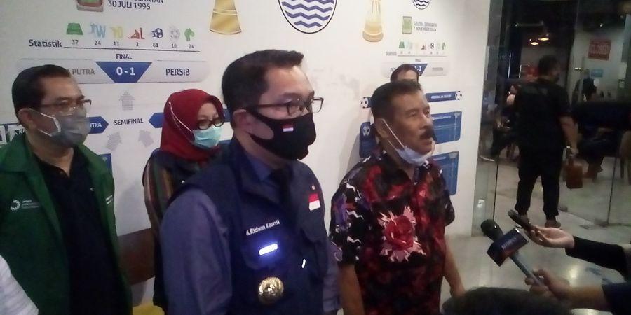 Jika Syarat Ini Tak Terpenuhi, Kang Emil Tak Akan Izinkan Liga 1 Bergulir di Jawa Barat