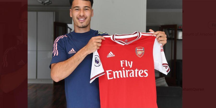 Cetak Rekor, Gabriel Martinelli Resmi Perpanjang Kontrak di Arsenal