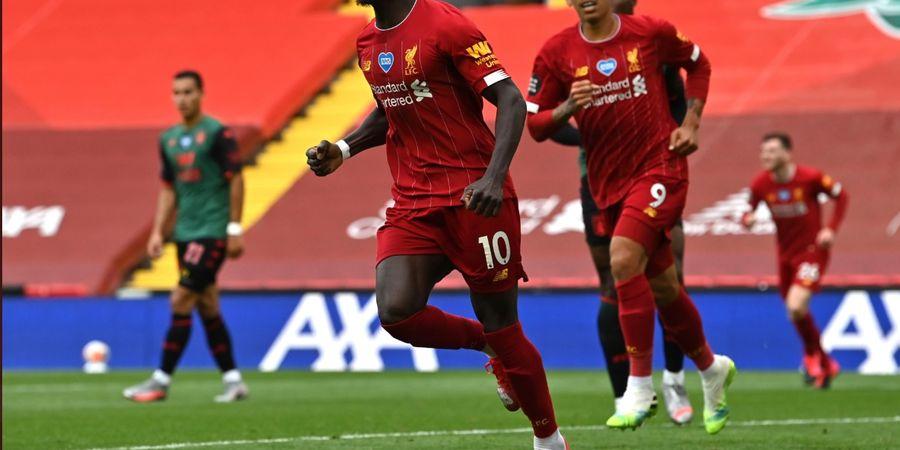 Hasil Liga Inggris - Raih 99 Poin, Liverpool Tutup Musim 2019-2020 dengan Kemenangan