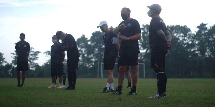 Tira Persikabo Latihan di Tengah Libur Kompetisi, Ini Penilaian Sang Striker Muda