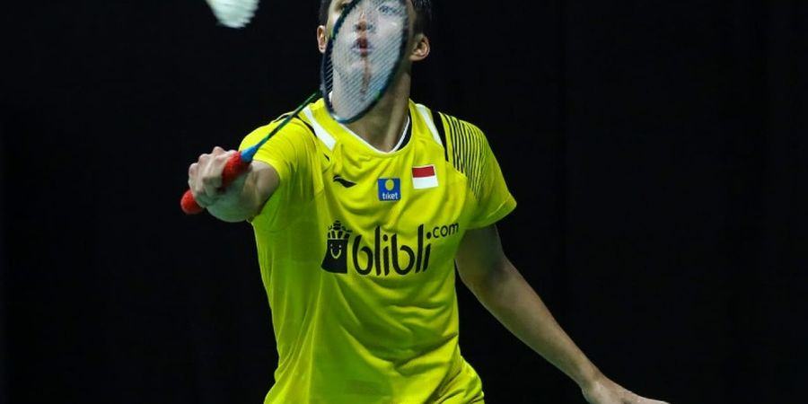 PBSI Home Tournament - Kram, Jonatan Christie Mundur dari Semifinal