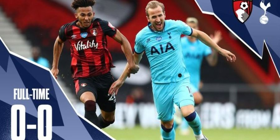 Hasil Liga Inggris - Dua Kali Diselamatkan VAR, Tottenham Gagal Salip Arsenal
