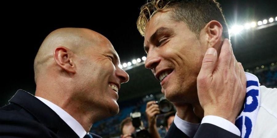 Cari Pengganti Solskjaer, Man United Hubungi Zidane atas Rekomendasi Ronaldo