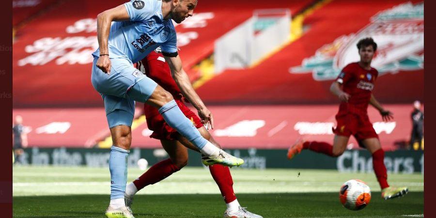 Hasil Liga Inggris - Burnley Rusak Rekor Sempurna Liverpool di Anfield