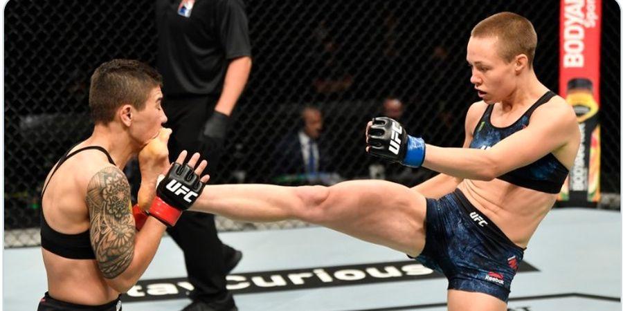 UFC 261 - Preman Juga Manusia, Rose Namajunas Sebut Lawan yang Paling Menyakitinya