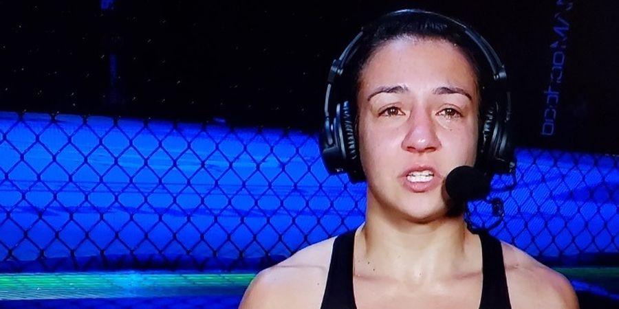 Hasil UFC 251 - Petarung Model Nyerah Usai Tangannya Dikunci Amanda Ribas