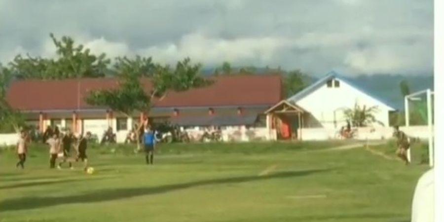 VIDEO - Pemain Persija Ini Bikin Gol Panenka Mirip Lionel Messi