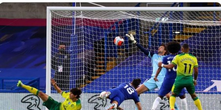 Hasil dan Klasemen Liga Inggris - Giroud Terbang, Chelsea Melayang Jauhi Man United