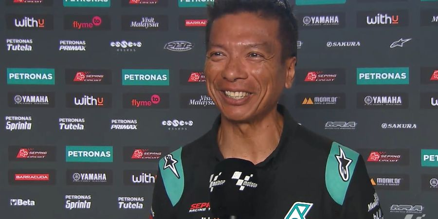 Sambil Tersenyum, Bos Petronas Yamaha SRT Jawab Rumor soal Valentino Rossi