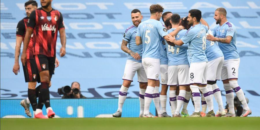 Manchester City Vs Olympique Lyon - The Citizens Dalam Kondisi Super