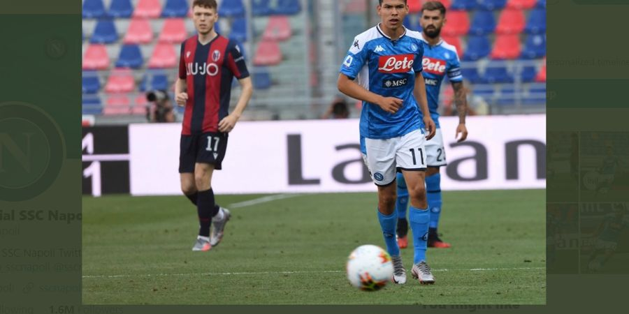 Hasil Liga Italia - Gol Bologna Dianulir Dua Kali, Napoli Cuma Raih Satu Poin