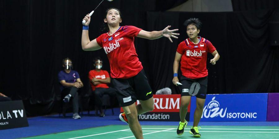 Sudirman Cup 2021 - Fadia/Ribka Bawa Indonesia Unggul 4-0