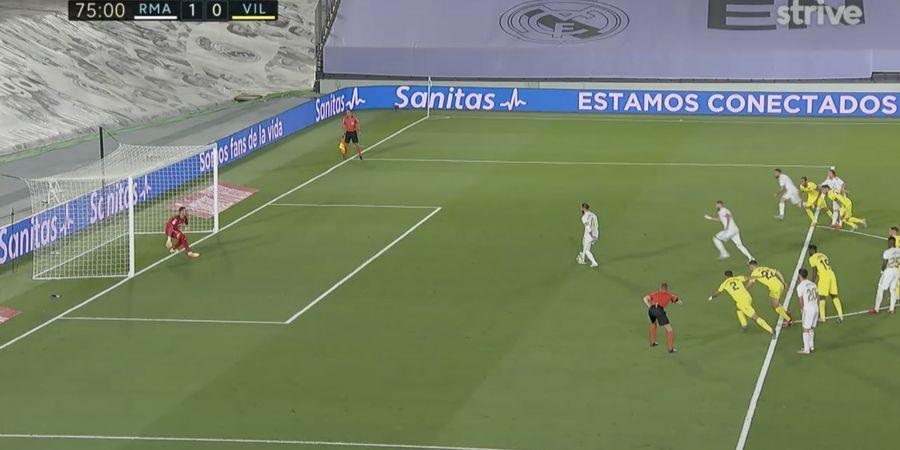 VIDEO - Sergio Ramos dan Karim Benzema Gagal Lakukan Penalti ala Johan Cruyff dan Olsen