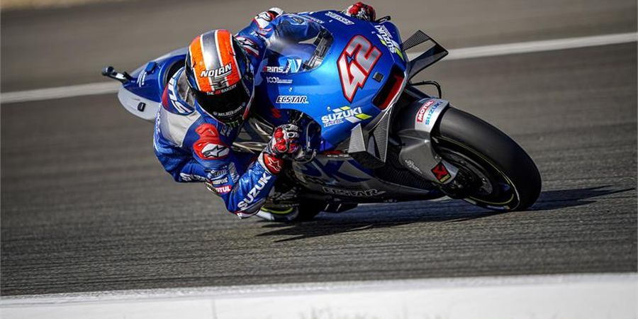 MotoGP Portugal - Alex Rins Incar Posisi Runner Up di Kejuaraan