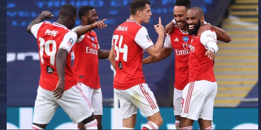 Link Live Streaming Arsenal Vs Liverpool - Laga FA Community Shield 2020, Kick-off 22.30 WIB