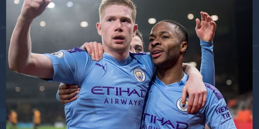 Bantai Norwich City 5-0, Manchester City 5 Kali Tembus 100 Gol di Liga Inggris