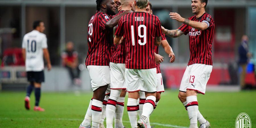 Sebuah Keberuntungan bagi AC Milan karena Dilatih Stefano Pioli