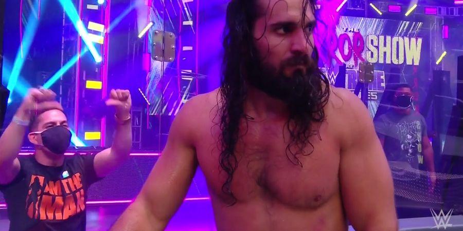 WWE Extreme Rules - Habis Korek Mata Rey Mysterio, Seth Rollins Muntah-muntah Sendiri