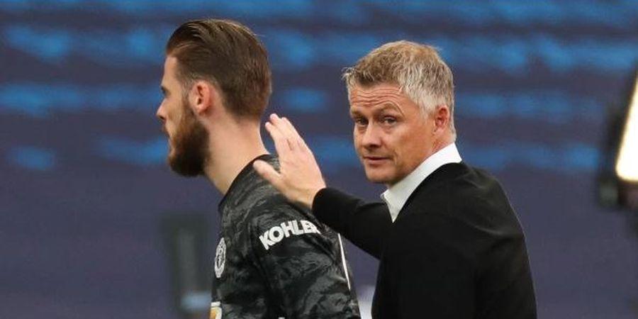 Man United Masuk Final Liga Europa, Solskjaer Enggan Jamin Posisi De Gea