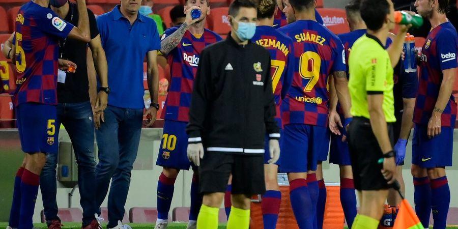 Barcelona Krisis Bek Tengah Jelang Hadapi Napoli di Liga Champions