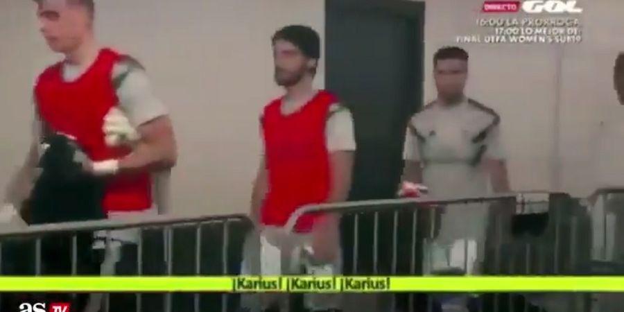 VIDEO Kocak Saat De Gea Dikatain Karius Oleh Pemain Real Madrid