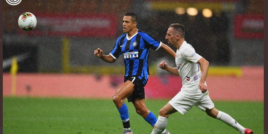 Alexis Sanchez Resmi Dipermanenkan Inter Milan dengan Status Bebas Transfer
