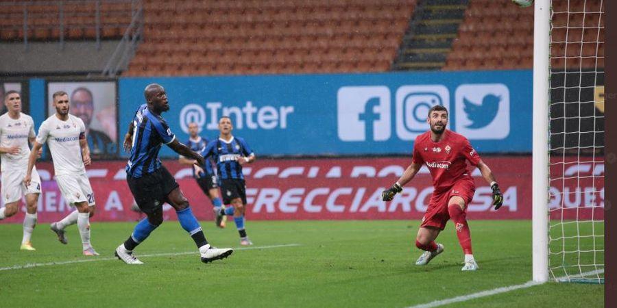 Hasil Inter Milan vs Fiorentina - Buntu sampai Akhir, Inter Buka Pintu Juara buat Juventus