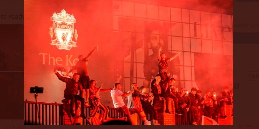 Liverpool Kecewa, Para Fan Abaikan Aturan untuk Rayakan Gelar Liga Inggris