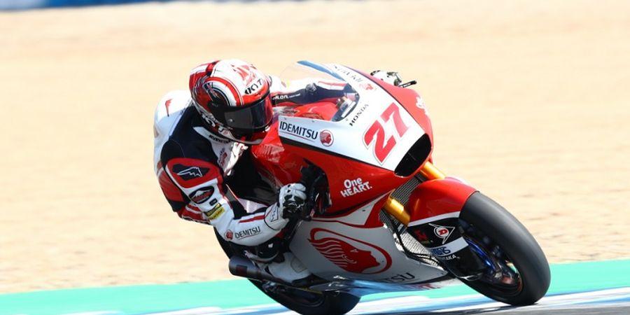 Hasil Moto2 Aragon 2020 - Pembalap Indonesia Naik 5 Tangga dari Posisi Start