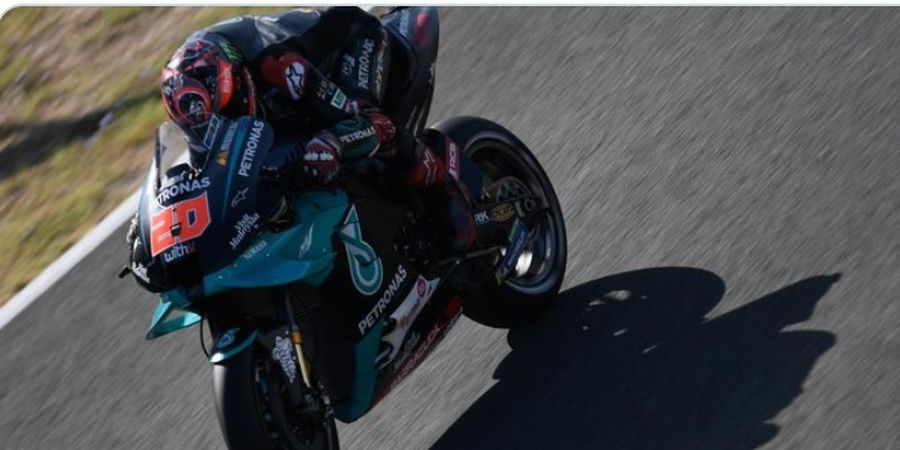 Hasil FP2 MotoGP Republik Ceska 2020 - Fabio Quartararo Jadi Pembalap Tercepat