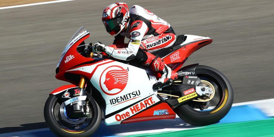 Hasil FP1 Moto2 Republik Ceska 2020 - Pembalap Indonesia Ungguli Rekan Setim