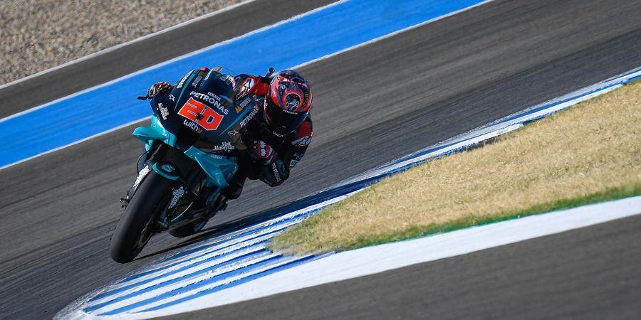 Hasil MotoGP Andalusia 2020 - Quartararo Over Power, Rossi Beruntung