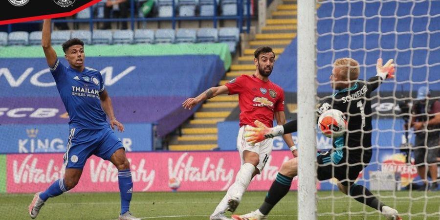 Babak I Liga Inggris -  Gol Bruno Fernandes Dianulir, Man United Masih Tertahan
