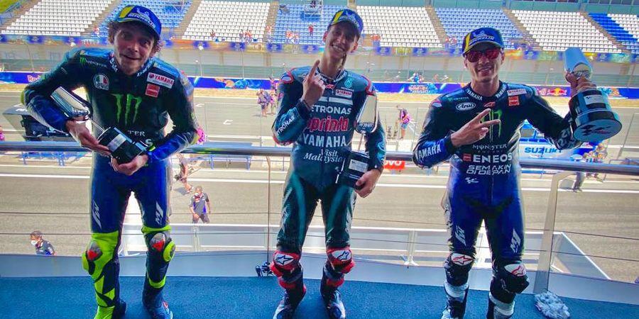 Fabio Quartararo Senang Valentino Rossi dkk Kompetitif Lagi