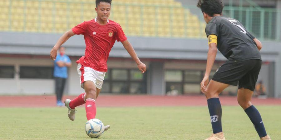Uji Coba Kedua, Timnas U-16 Indonesia Ditahan Imbang Klub Lokal