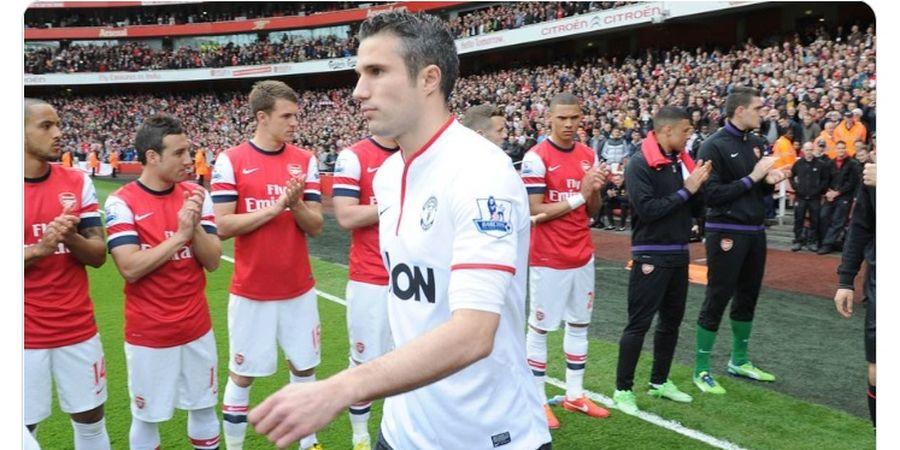 Perasaan Aneh Robin van Persie Balik ke Arsenal Usai Juara Liga Inggris Bareng Man United